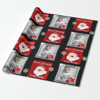 Santa's Nice List w/Photo Wrapping Paper
