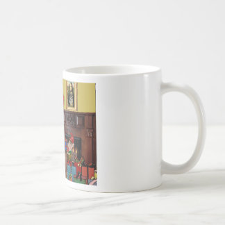 Santa's Norwegian Elkhound Mug