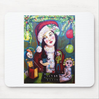 Santa's Notty Little Helpers Mouse Pad