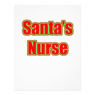 Santa's Nurse Flyers