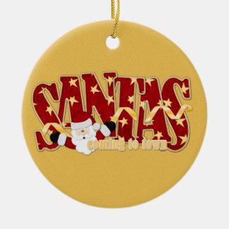 Santas Ornament
