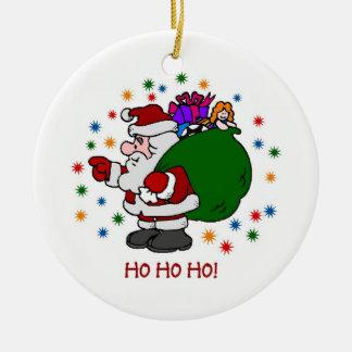 Santa's Ornament