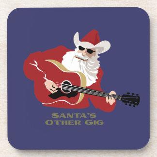 Santa's Other Gig Beverage Coaster