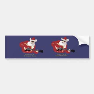 Santa's Other Gig Bumper Sticker