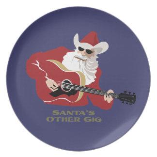 Santa's Other Gig Dinner Plate