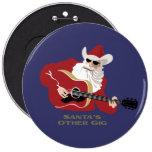 Santa's Other Gig Pins