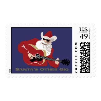 Santa's Other Gig Postage