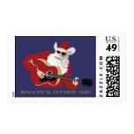 Santa's Other Gig Stamp