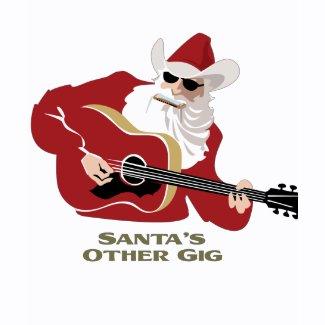 Santa's Other Gig shirt