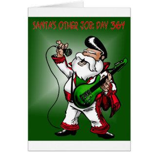 Santa's other job: day 364 card