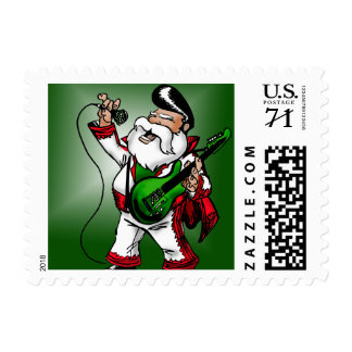 Santa's other job: day 364 postage stamp