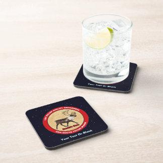 Santa's Own - 1st Polar Airlift Squadron Beverage Coaster