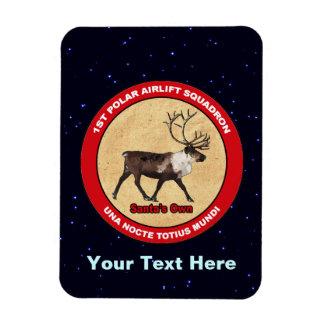 Santa's Own - 1st Polar Airlift Squadron Magnet