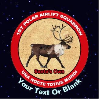 Santa's Own - 1st Polar Airlift Squadron Statuette