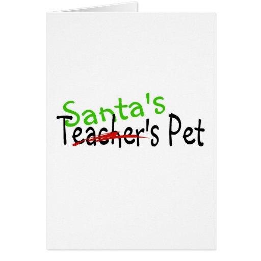 Santas Pet Cards