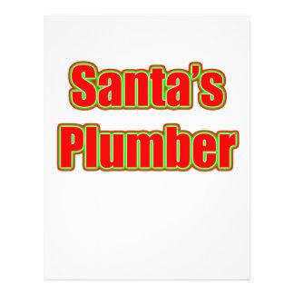 Santa's Plumber Flyer