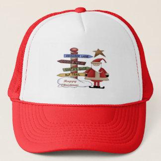 Santa's Pole Trucker Hat
