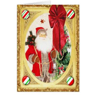 Santas Portrait Card