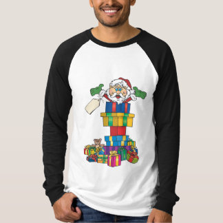 Santa's present stack T-Shirt