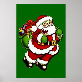 Santa's Presents Poster Print (in 23 sizes)