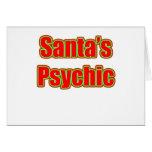 Santa's Psychic Card