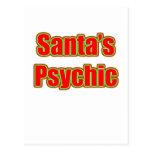 Santa's Psychic Post Card