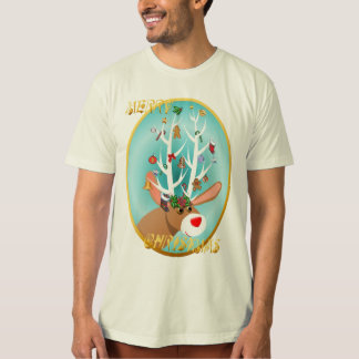 Santa's Reindeer_Merry Christmas Shirt