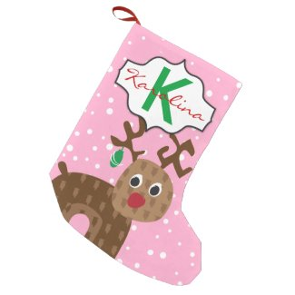 Girls Personalized Christmas Stocking