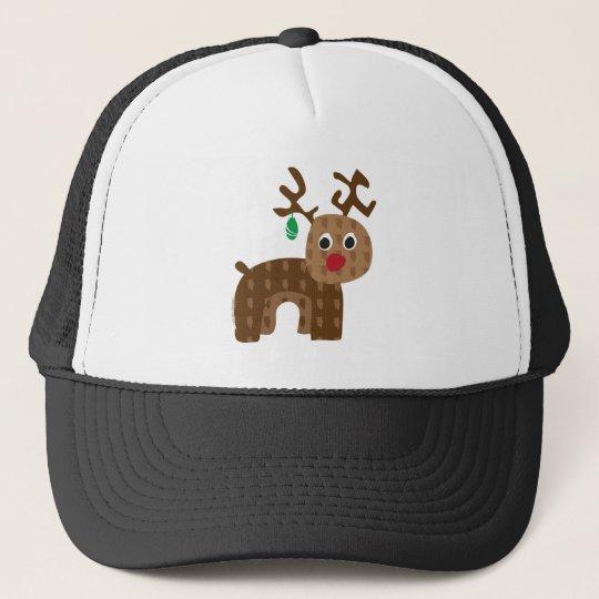 Santa's Reindeer Trucker Hat