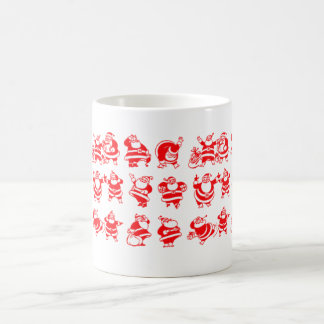 Santas retros taza