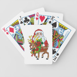 Santas Rudolph Playing Cards