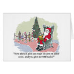 Santas Savings! Christmas Card