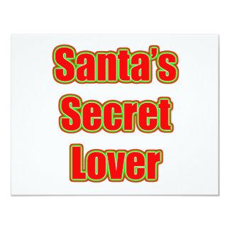 Santa's Secret Lover Card