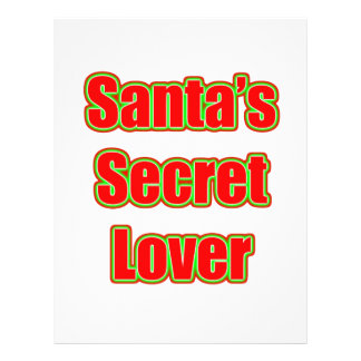 Santa's Secret Lover Flyers