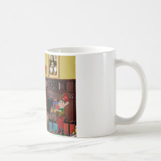 Santa's Sheltie (sw) Coffee Mug