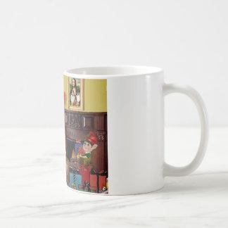 Santa's Sheltie (sw) Coffee Mugs