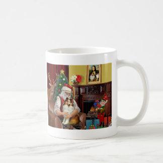 Santa's Sheltie (sw) Coffee Mug