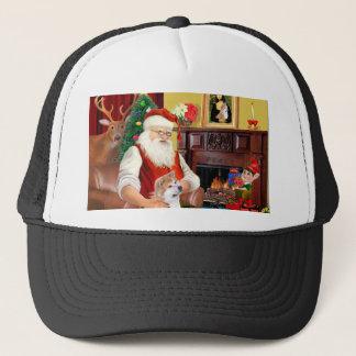 Santa's Shiba Inu (lkup) Trucker Hat