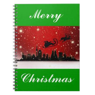 Santa's Sleigh Notebook