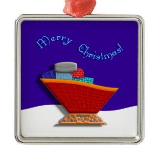 Santas Sleigh ornament