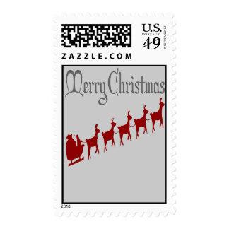 Santas Sleigh Postage