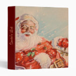 Santas Sleigh Ride binder