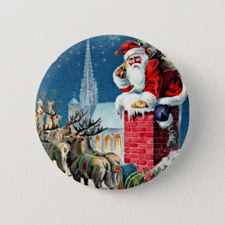 Santa's Sleigh Ride Button
