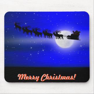 Santa's Sleigh Ride Mouse Mats