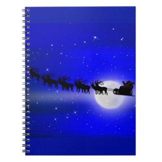 Santa's Sleigh Ride Notebook