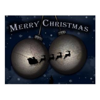 Santa's Sleigh Ride Postcards