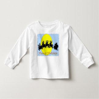 Santa's Sleigh Toddler T-shirt