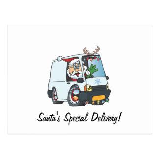 Santa's Special Delivery! Postcard