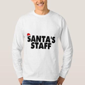 Santas Staff T Shirt