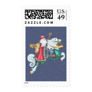 Santa's Steed Stamp